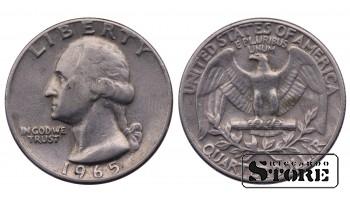 1/4 ДОЛЛАРА 1965 ГОД