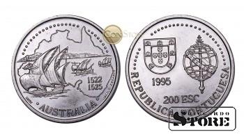 Португалия , 200 эскудо 1995 год (Золотой век открытий - Австралия)