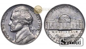 Монеты США , 5 центов - 1976 год