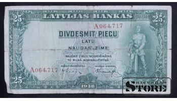 LATVIA , 25 LATI 1938 GADS - A064717