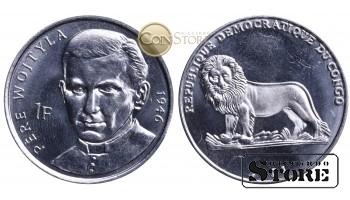 Конго - ДРК , 1 франк 2004 год