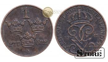 Швеция , 1 эре 1913 год