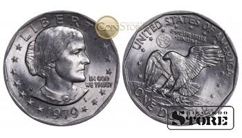 Монеты США , 1 доллар - 1979 год