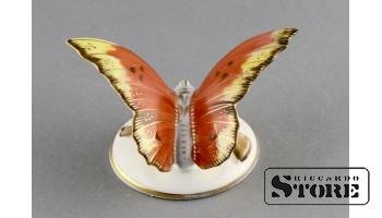 Фарфоровая статуэтка Бабочка, Пёстрая