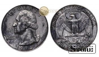 Монеты США , 1/4 доллара - 1994 год P