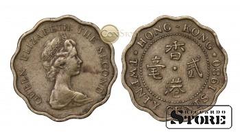 Гонконг , 20 центов 1980 год