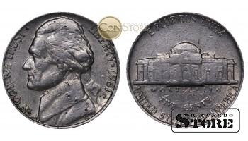 Монеты США , 5 центов - 1981 год P