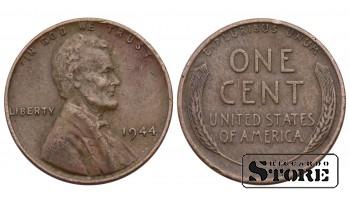 1 ЦЕНТ США 1944 ГОД KM# A132