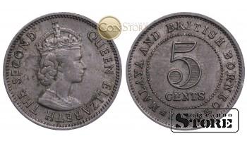 Britu Borneo, 5 centi 1953 gads