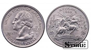1/4 ДОЛЛАРА 2006 ГОД -  Nevada D