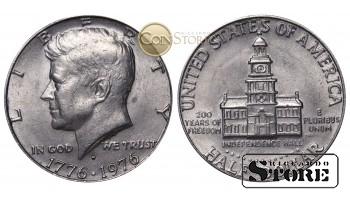 Монеты США , ПОЛДОЛЛАРА , 1974 год D