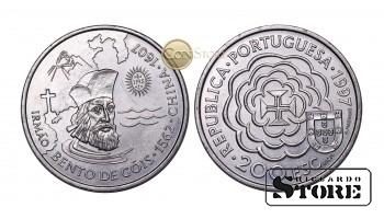 Португалия , 200 эскудо, 1997 год (390 лет со дня смерти Бенто ди Гойш)