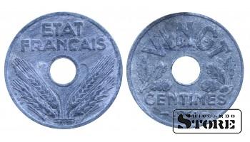 Франция , 20 сантимов 1941год  (цинк)