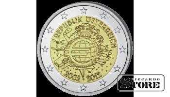 2 EURO - 10 Years Euro Currency