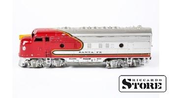 SANTA FE Passenger EMD F7A Diesel Locomotive