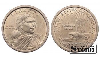 1 ДОЛЛАР США 2001 KM# 310