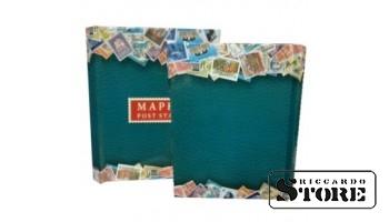 Альбом-планшет на 8 листов для хранения марок, с промежуточными листами, с титульным листом