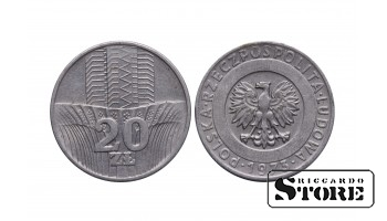 Польша, 20 злотых 1973 год