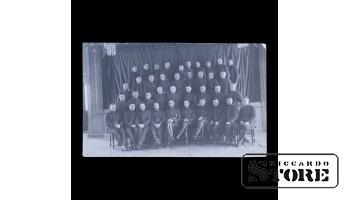 Открытка, Солдаты в групповом фото
