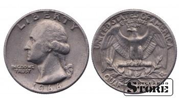 1/4 ДОЛЛАРА 1966 ГОД
