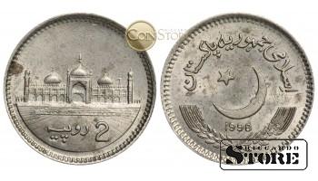Пакистан , 2 рупии 1998 год