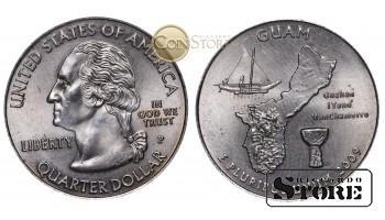 Монеты США , 1/4 доллара - 2009 год P