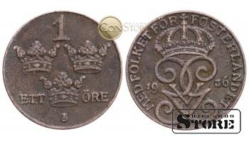 Швеция , 1 эре 1936 год