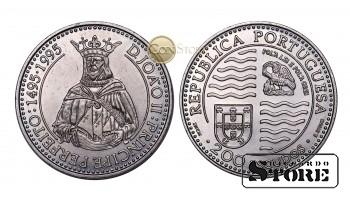 Португалия , 200 эскудо, 1995 год (500 лет со дня смерти Жуана II)