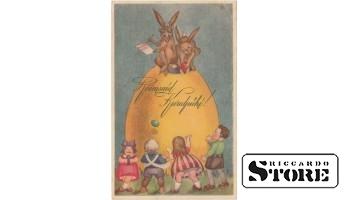 Старинная Пасхальная открытка - 17