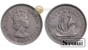 Восточные Карибы , 10 центов 1959 год