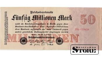 Fünfzig Millionen Mark