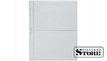 Лист вертикальный для бон, открыток 192х218 мм на 2 боны 170х105 мм, формат Numis