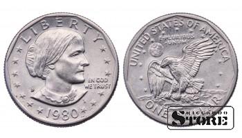 1 ДОЛЛАР США 1980 ГОД KM# 207
