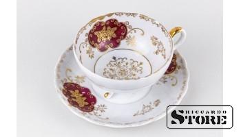 Фарфор, Чайная пара , Royal Sealy China Japan Porcelain, 20 век