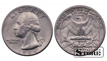 1/4 DOLARA 1986.GADS