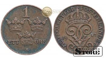 Швеция , 1 эре 1927 год