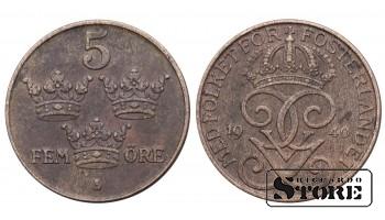 5 ЭРЕ ШВЕЦИЯ 1940 ГОД KM# 779.2