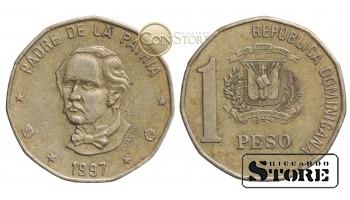 Доминикана , 1 песо 1997 год