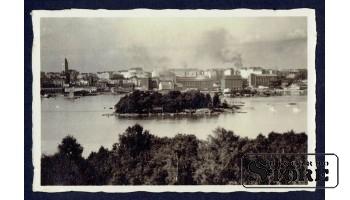 Старинная открытка 1921 г. Хельсинки
