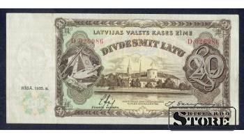 BANKNOTE, LATVIA, 20 Lati 1935 gads - D 026986