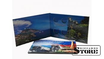 Буклет для семи памятных монет 10 и 5 рублей, посвященных Крыму и Севастополю