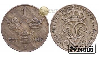 Швеция , 1 эре 1937 год
