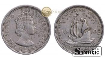 Восточные Карибы , 10 центов 1956 год