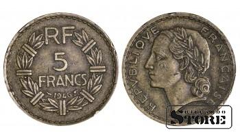 Франция , 5 Франков 1946 год