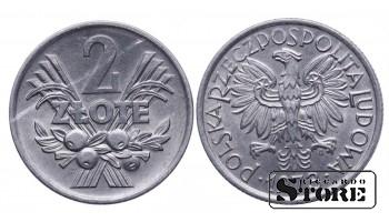 Польша. 2 злотых 1973 год