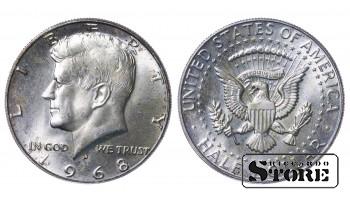 USA US Kennedy Silver Ag Coin Coinage Standard 1968 Half Dollar KM#202a #US534