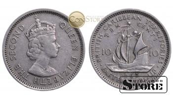 Восточные Карибы , 10 центов 1962 год