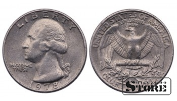 1/4 ДОЛЛАРА 1978 ГОД