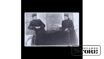 Открытка, Солдаты в санях, 1931