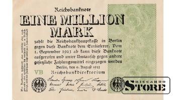 EINE MILLION MARK